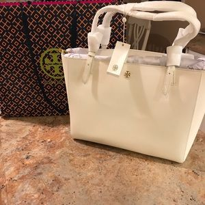 Brand new Tory Burch Emerson buckle tote